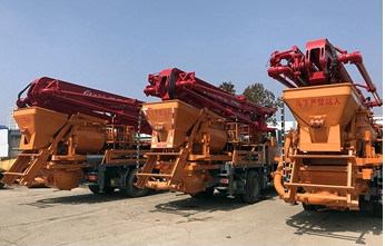 China Dongfeng 18m Hot Sale Concrete Conveyor Truck Concrete
