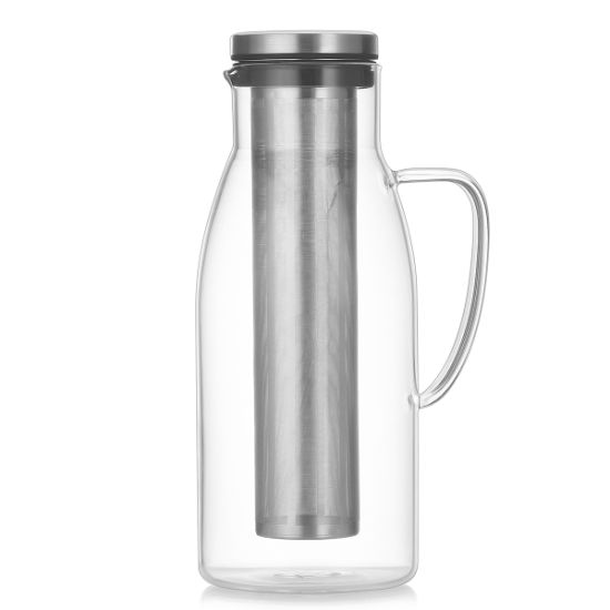 Glass Coffee Pot Cold Brew Jugs Coffee Jugs Cold Brew Coffee Makers with Removable Infuser