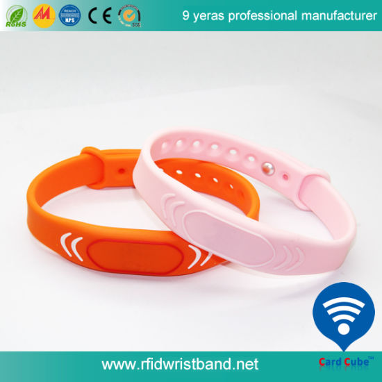 Factory Price Customized Silicone Waterproof RFID Wristband