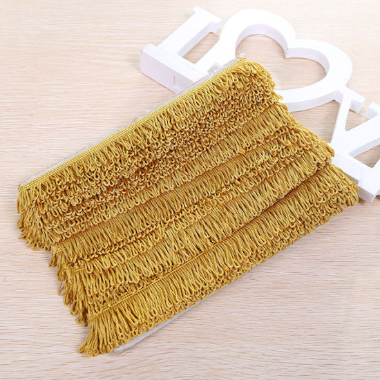 Trim Supplier Wholesale Rayon Tassel Fringe for Curtain