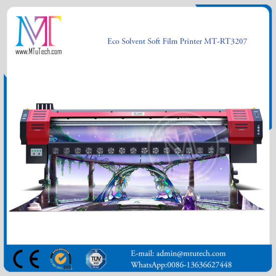 New Products Digital Inkjet Large Format Eco Solvent Printing Machine