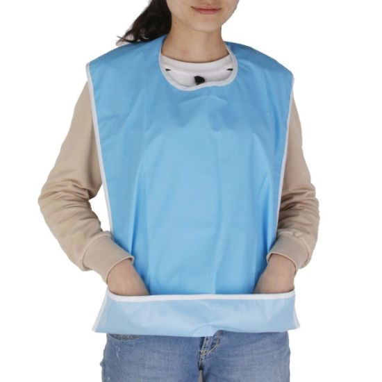 Bibs For Adults >> Assisted Living Disabled Elderly Mealtime Dining Adult Bibs