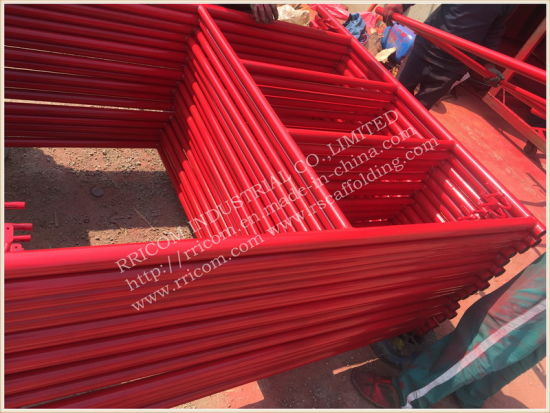 S-Style Powder Coated Mason Scaffolding Frames pictures & photos