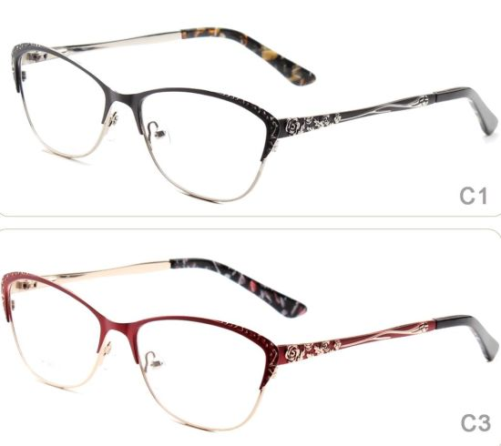 China Online 2018 Latest Metal Stainless Steel Optical Eyeglass ...