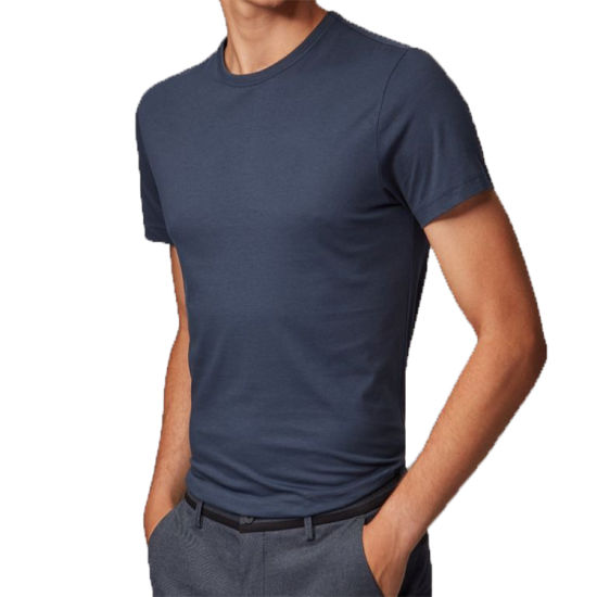 OEM 100% Cotton Quick Dry Logo Plain Blank Men T Shirt Cotton T Shirt