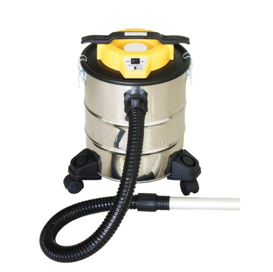 401-12/15/18/20/23L Electric Dry Dust Fireplace Ash BBQ Ash Vacuum Cleaner with Filling Indicator with or Without Wheelbase