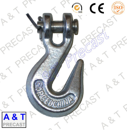 Carbon Steel/Stainless Steel Sling Hook / G80 Eye Hoist Hook with Latch pictures & photos