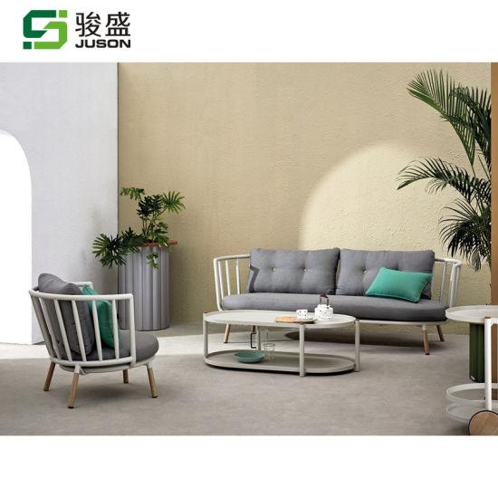 Hot Sale European Style Outdoor Furniture Garden Sofa Set Modern Patio Sofa Furniture