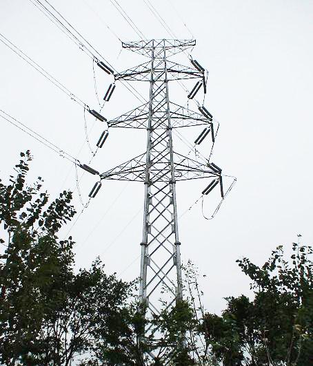 High Volume Transmission Line Tower