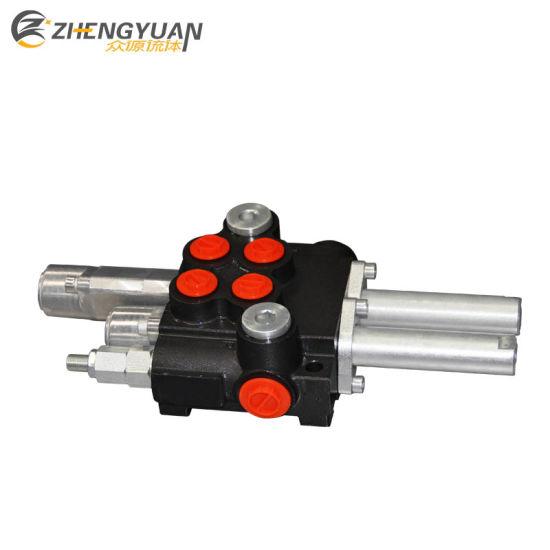 China Hydraulics Loader Valve 4-Way W/ Float P40 - China