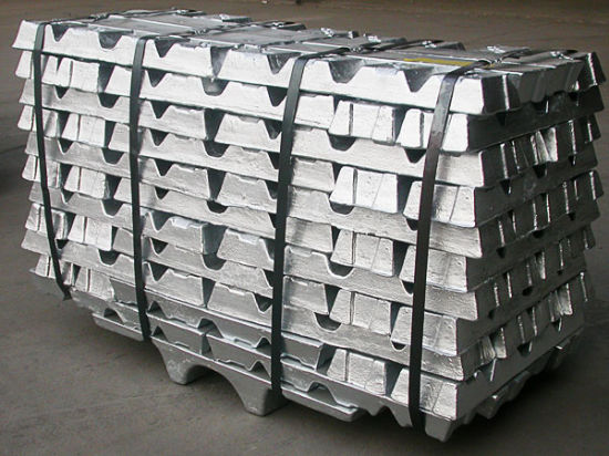 Pure Zinc Ingot 99.995% pictures & photos