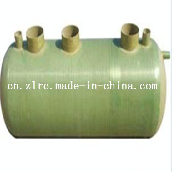 GRP Septic Tank Sewage Water Treatment Plant GRP Septic Tank