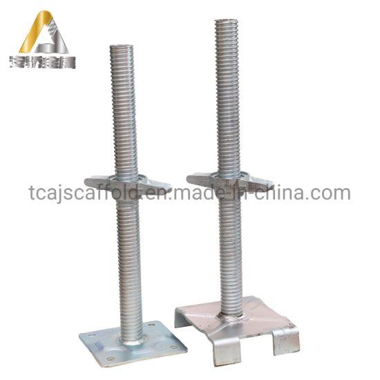 Scaffolding Adjustable Steel Screw Base Jack