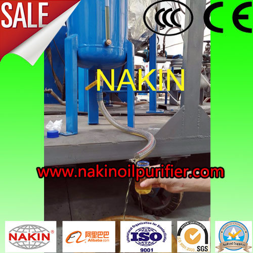 Jzc-1 Ton/Day Black Waste Lube Oil Filtration, Black Waste Engine Oil Distillation pictures & photos
