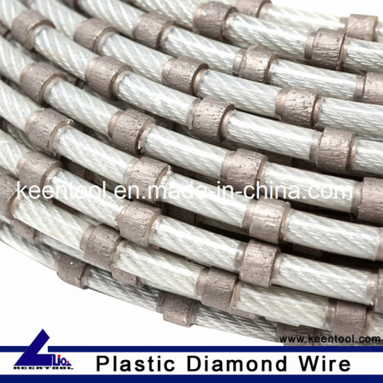 China Sintered Plastic Fixing Diamond Wire for Factory Use - China ...