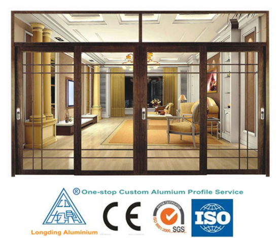 China Glass Windows and Doors Construction Usage Extrusion