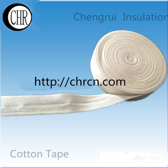 Insulation Tabby and Twill Cotton Tape pictures & photos