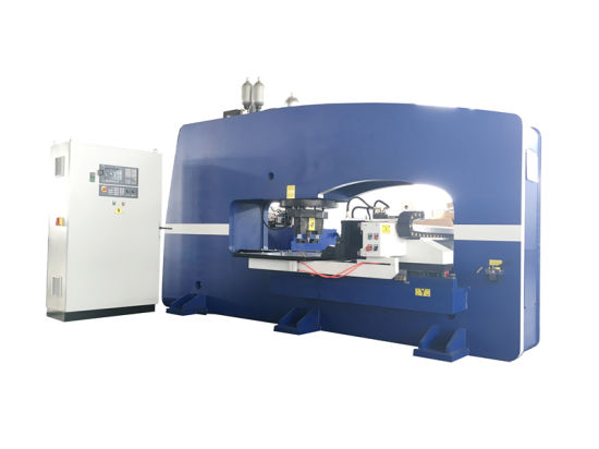 O-Type CNC Hydraulic Thick Plate Puncher pictures & photos