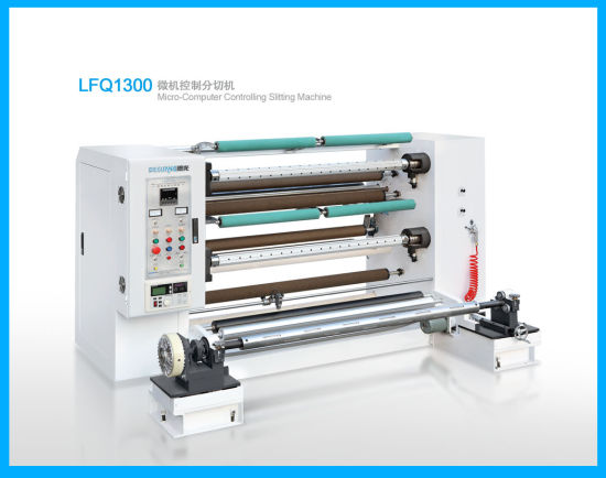 BOPP Plastic Film Slitter and Rewinding Machine (LFQ1300) pictures & photos