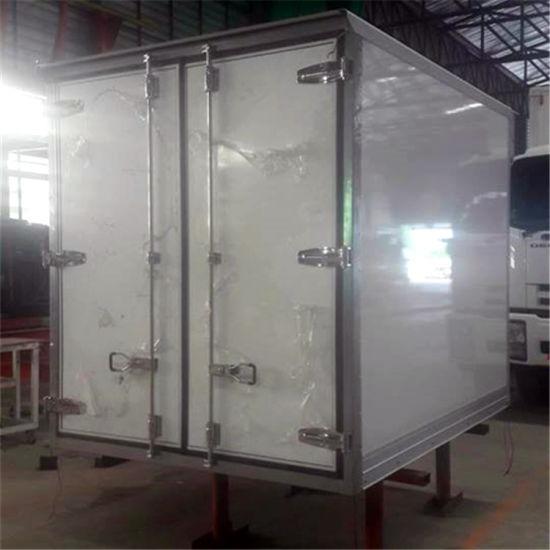 High Gloss Gelcoat Fiberglass Insulated Van Body
