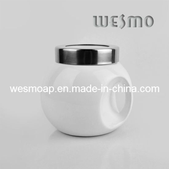 Ceramic Storage Container Pot (WKC0336A) pictures & photos