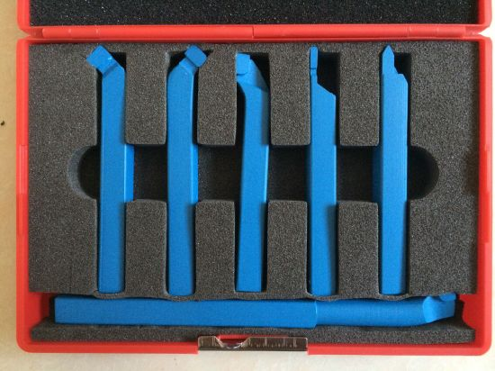 DIN&ISO 6 PCS Carbide Brazed Tool Set pictures & photos