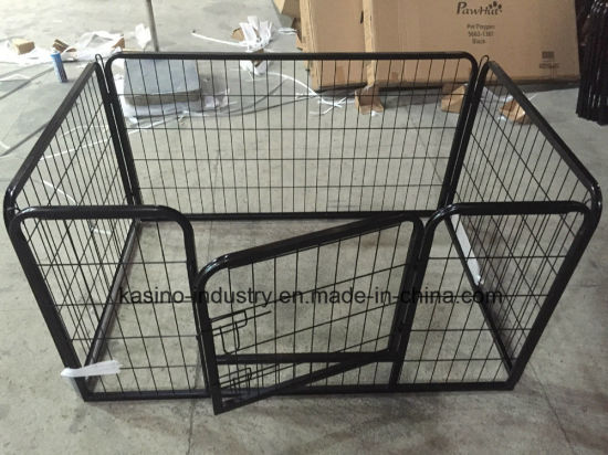 Manufacturing Foldable Metal Wire Pet Dog Cage/Pet Enclosure DC205