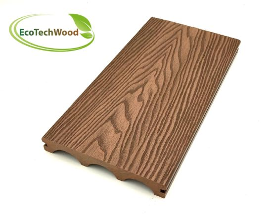 Arch 3D Wood Grain WPC Wood Plastic Composite Flooring
