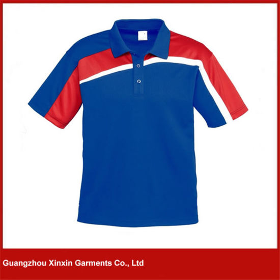 Mens Short Sleeve Custom Design Sports Polo Shirt (P90) pictures & photos