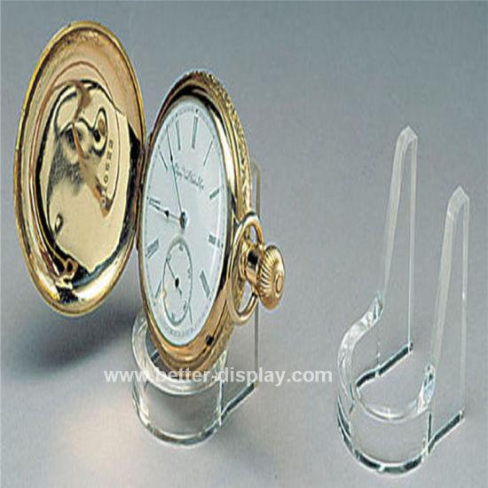 Acrylic Pocket Watch Display Case/Holder Btr-F1012