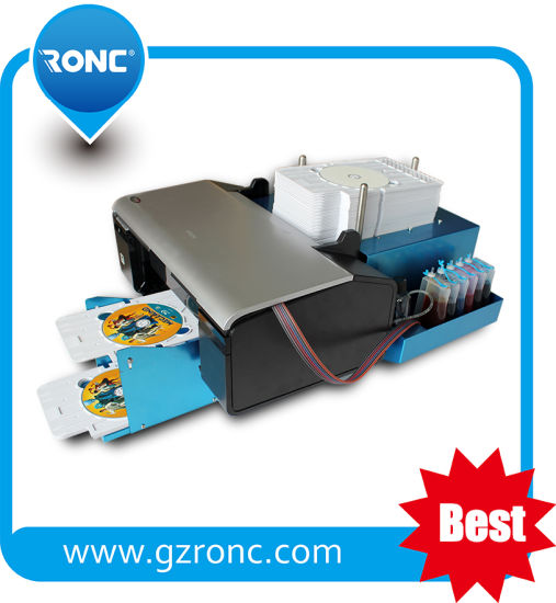 Automatic L800 Inkjet CD DVD Printer for Disc