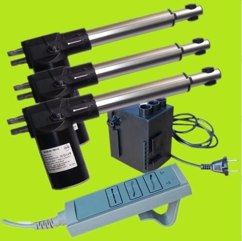 Electric Linear Actuator kits12v or 24v DC 6000N with wire remote control and handsets (FY011 + FYK011 + FYH011) pictures & photos