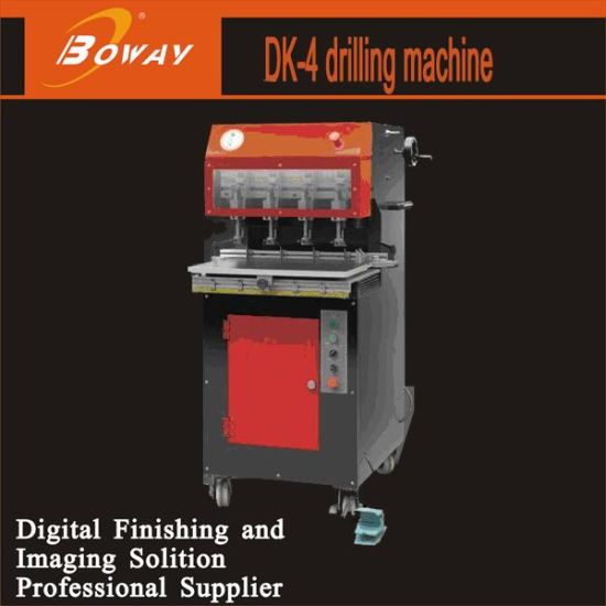 Automatic High Speed Paper Sheets Hole Drilling Machine for Book Binding Dk-4