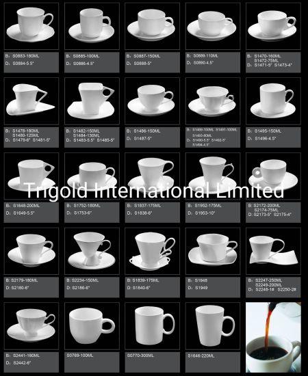 Hotel Coffee Cup/ Mug With Saucer 03