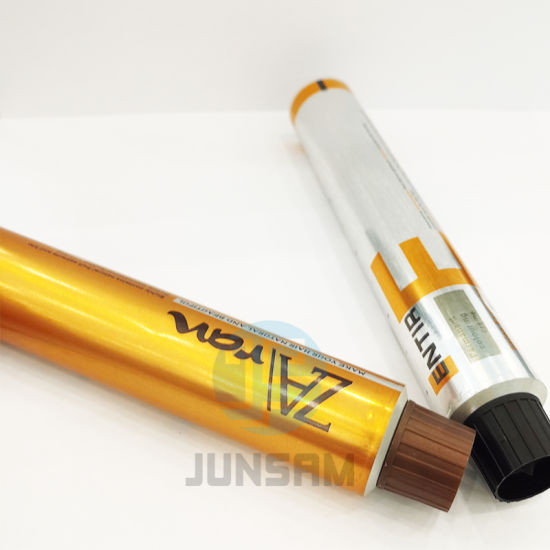 Personal Care Packaging Pure Aluminum Cosmetic Cream Tubes