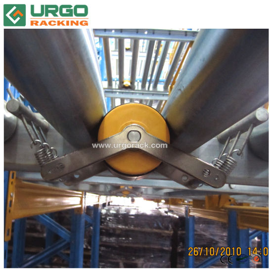 China Rollers Gravity Pallet Racking