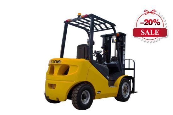 Professional 2 Ton Diesel Engine Forklift Truck with Isuzu Engine for Sale