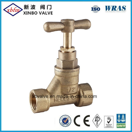 Melco Type Brass Stop Valve pictures & photos
