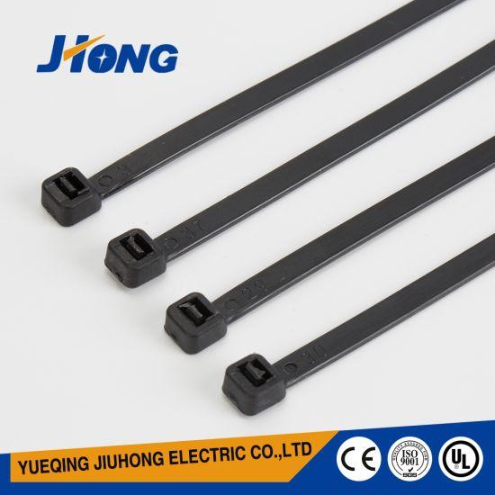 9 X 750mm Nylon Plastic Black Cable Ties