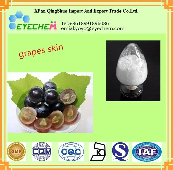 5% Resveratrol, 25% Polyphenols Grapefruit Seed Grape Skin Peel Extract pictures & photos