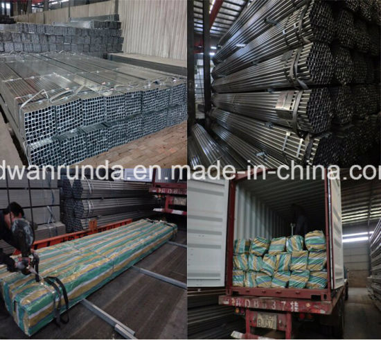 Good Quality Galvanized Steel Tube with Percect Surface pictures & photos