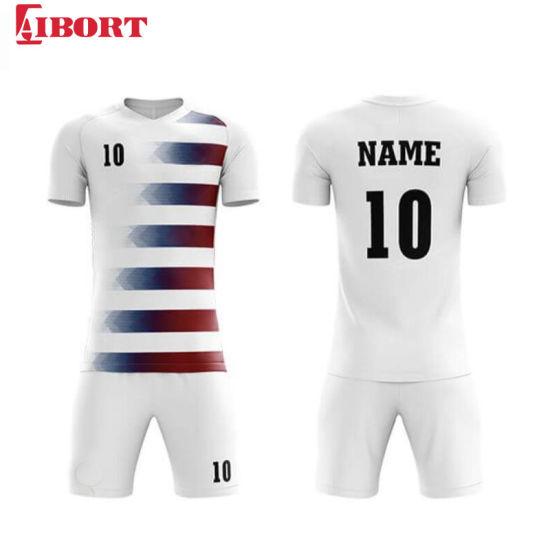 Aibort Best Grade Top Quality Sublimation Football Shirt Soccer Jersey Uniforms (J-SC034 (2))
