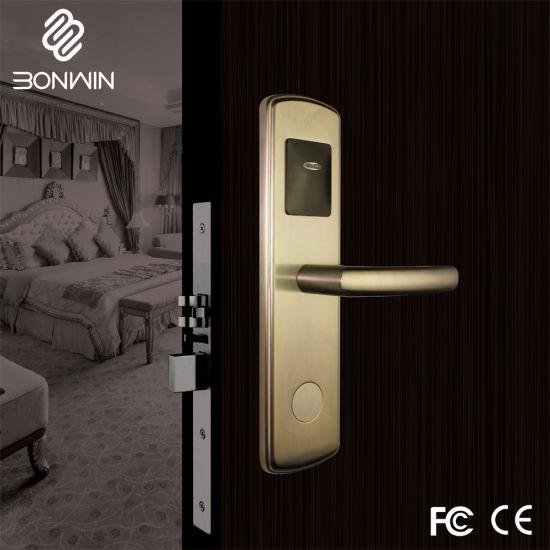 hotel door lock types. Stainless Steel Type RF Card Hotel Door Lock Bw803sc-F Types