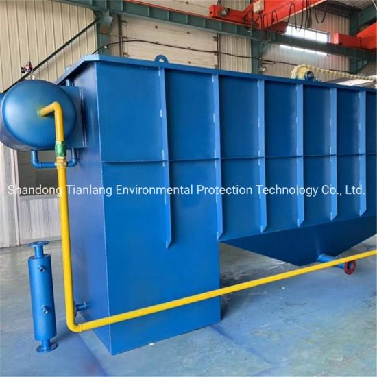 Best Price Dissolved Air Flotation Machine to Remove Oil Treatment Sewage