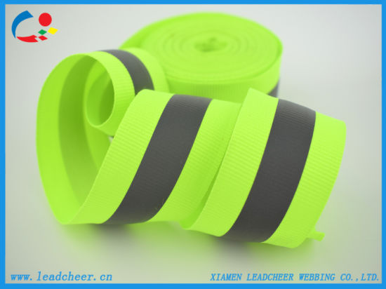 Durable Reflective Ribbon for Outdoors Safety Garments
