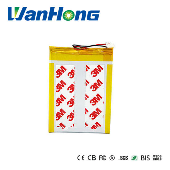 Rechargeable 3.7V 2500mAh Li-Polymer Battery, 346995 with OEM/ODM Service pictures & photos