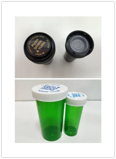 Plastic Pill Bottle Vials with Snap Cap