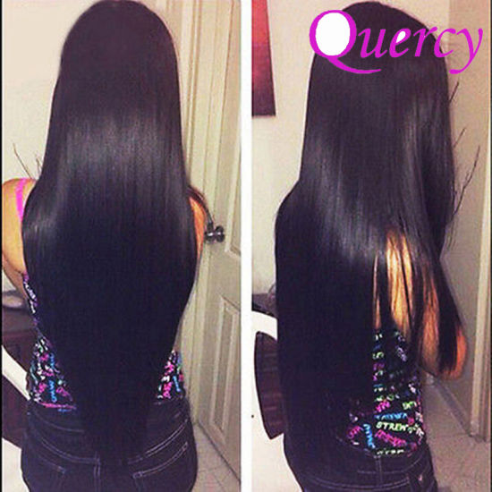 Natural Color Raw Unprocessed Virgin Brazilian Hair Weavon Silk Straight Human