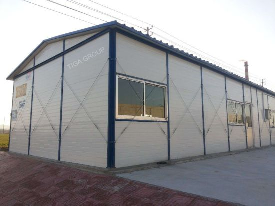 Made in China Prefabricated House Price/Factory Steel Structure Buildings pictures & photos