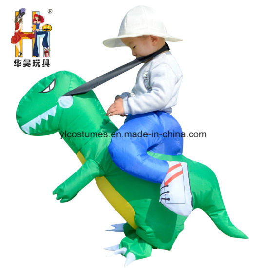 Polyester Funny Cosplay Kids Party Inflatable Dinosaur Costume Halloween Costume  sc 1 st  Yiwu Yelong Costumes Factory & China Polyester Funny Cosplay Kids Party Inflatable Dinosaur Costume ...